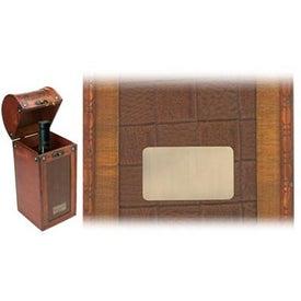 Tesoro I Wooden Single Wine Box for Marketing