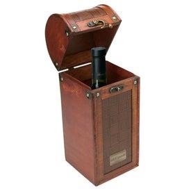 Tesoro I Wooden Single Wine Box
