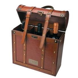 Tesoro III Wooden Triple Wine Box
