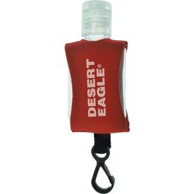 Tethered Hand Sanitizer for Customization