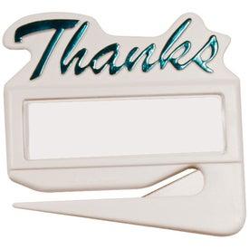 Thanks Letter Opener for your School