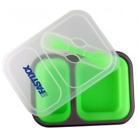The Addison Silicone Lunch Box for Your Organization