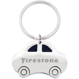 The Car Key Chain Imprinted with Your Logo