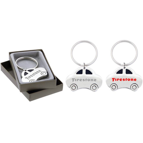 Silver Car Key Chain