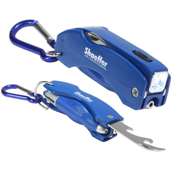Blue Everything Tool Key Chain