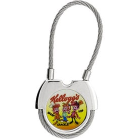 The Ferro di Cavallo Key Chain Branded with Your Logo