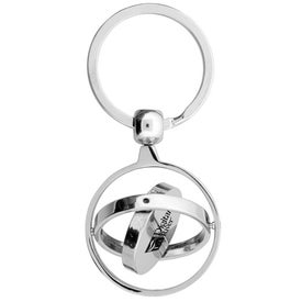 The Rosarno Key Chain Imprinted with Your Logo