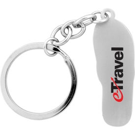 The Sandalo Key Chain Imprinted with Your Logo