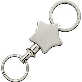 The Silver Stella Pull Apart Key Chain Giveaways