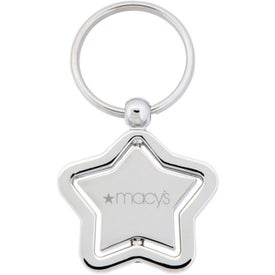 The Silver Stella Spinner Key Chain Giveaways