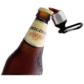 The Weston Flashlight Bottle Opener for Your Company