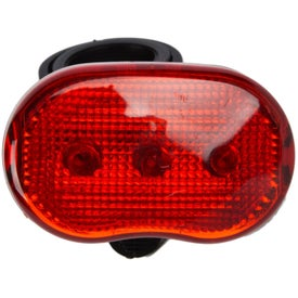 The Benicia Bike Light and Mounting Bracket Branded with Your Logo