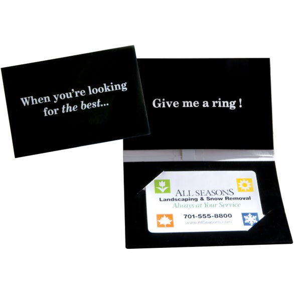 Black Original Telephone Ringing Card