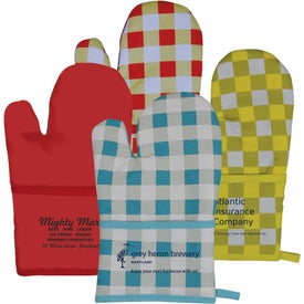 Therma-Grip Oven Mitts for Customization