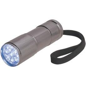 Monogrammed The Stubby Aluminum LED Flashlight With Strap