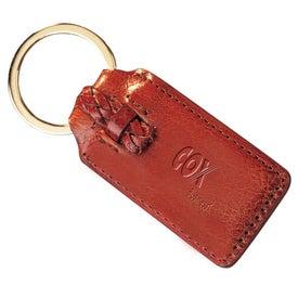 Branded Third Avenue Key Fob-Rectangular