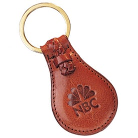 Monogrammed Third Avenue Key Fob-Tear Drop