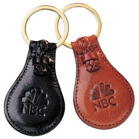Imprinted Third Avenue Key Fob-Tear Drop