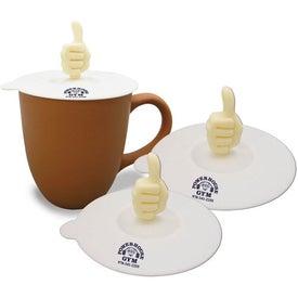 Branded Krazy Kuzil Thumbs Up Coffee Lid