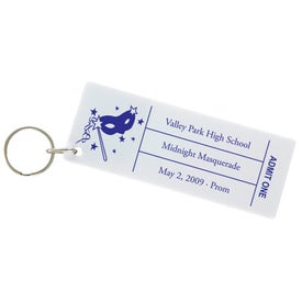 Customized Ticket Keytag