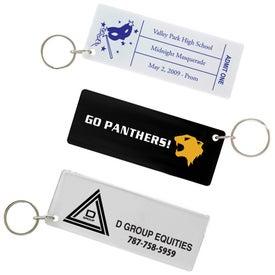 Branded Ticket Keytag