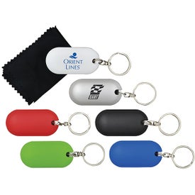 Monogrammed Tidy Up Key Chain
