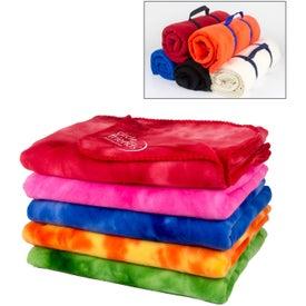 Advertising Tie-Dye Blankets