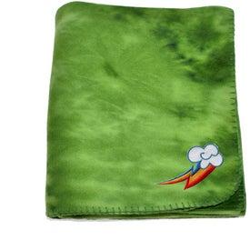 Tie Dye Fleece Blanket for Your Church