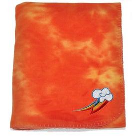 Tie Dye Fleece Blanket Printed with Your Logo