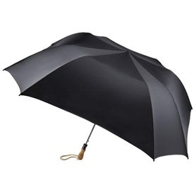 Times Square Auto Open Folding Umbrella Branded with Your Logo