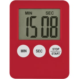 Imprinted Tiny Tot Magnetic Timer