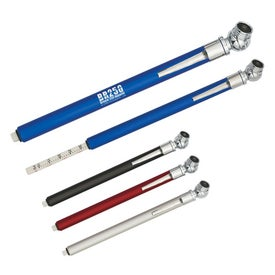 Tire Gauge With Clip