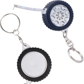 Tire Tape Measure Key Chain for Your Organization