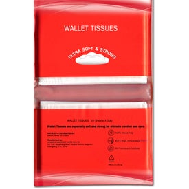 Tissue Pack Imprinted with Your Logo