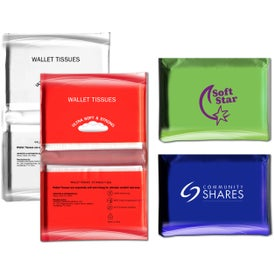 Tissue Pack Imprinted with