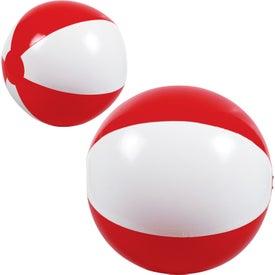 Custom 2-Tone Beach Ball