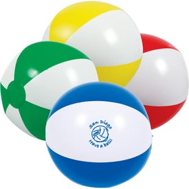 Customized 2-Tone Beach Ball
