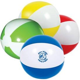 Customized 2-Tone Beach Ball