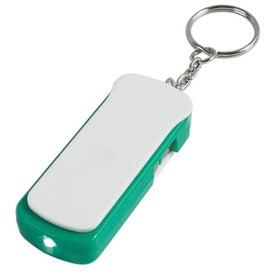 Monogrammed Tool Kit Key Tag