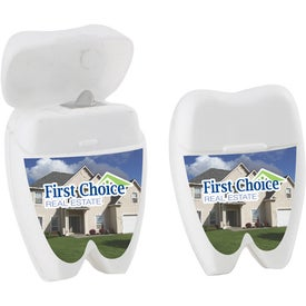 Tooth Shaped Dental Floss for Promotion