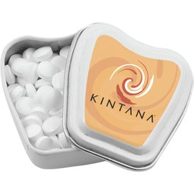 Tooth Shaped Mint Tin with Your Logo
