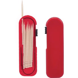 Monogrammed Toothpick Carrier