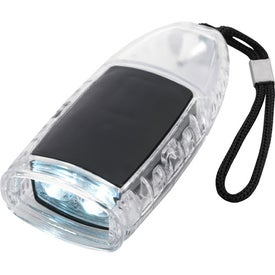 Torpedo LED Lantern Flashlight With Strap Printed with Your Logo
