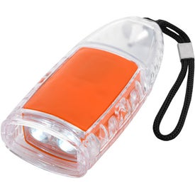 Torpedo LED Lantern Flashlight With Strap for Advertising