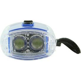 Personalized Torpedo LED Lantern Flashlight With Strap