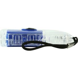 Torpedo LED Lantern Flashlight With Strap for your School