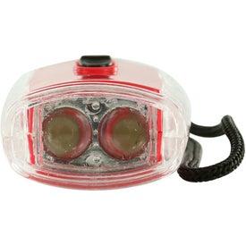 Logo Torpedo LED Lantern Flashlight With Strap