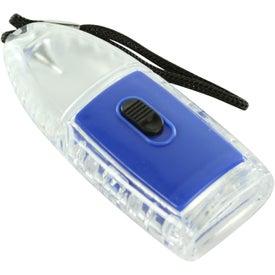 Torpedo LED Lantern Flashlight With Strap with Your Slogan