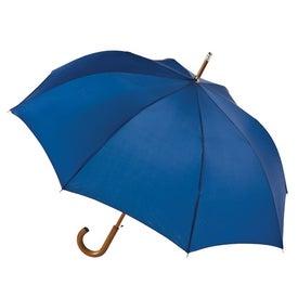 Branded Totes Automatic Stick Umbrella
