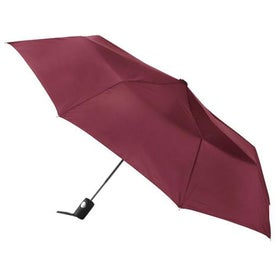 Company Totes Auto Open Folding Umbrella